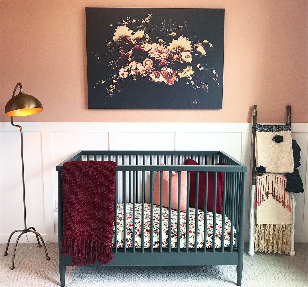 Bohemian Nursery by Lindsey Beck of AMA Interiors