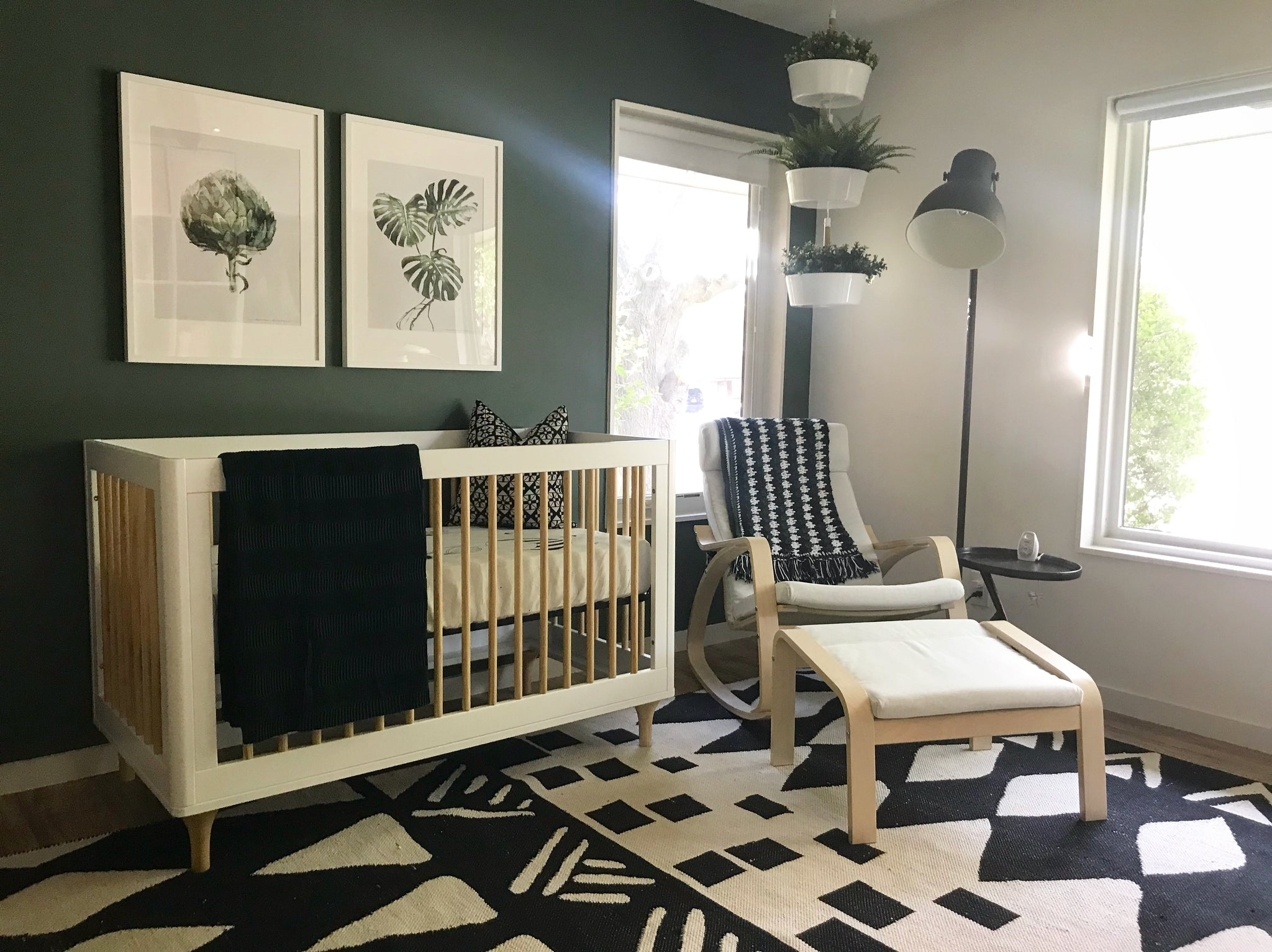 Contemporary Gender Neutral Nursery by Lindsey Beck