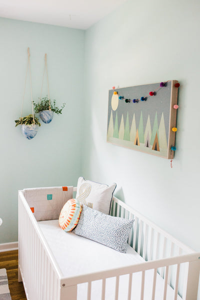 Ikea Gulliver Crib in Designer Leah Phillips Nursery