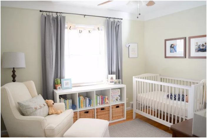 Neutral and Calming Color Palette for Luke's Peaceful Nursery