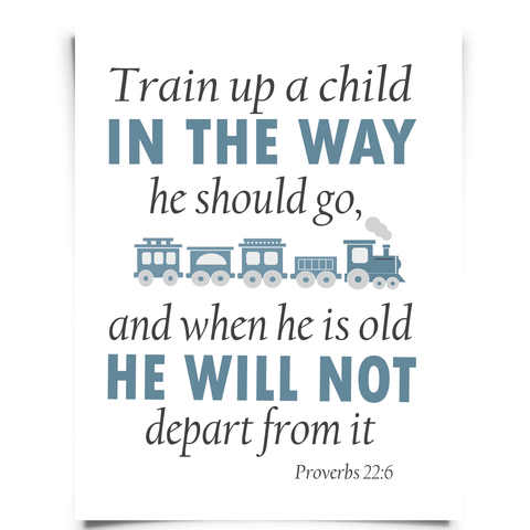 Proverbs 22:6 Printable