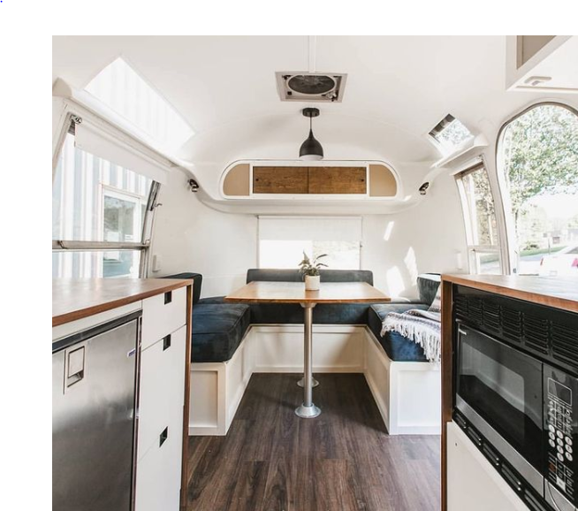 Airstream Renovation by Nu Abode