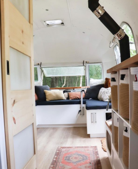 Renovated Airstream by slowcarfasthome on IG