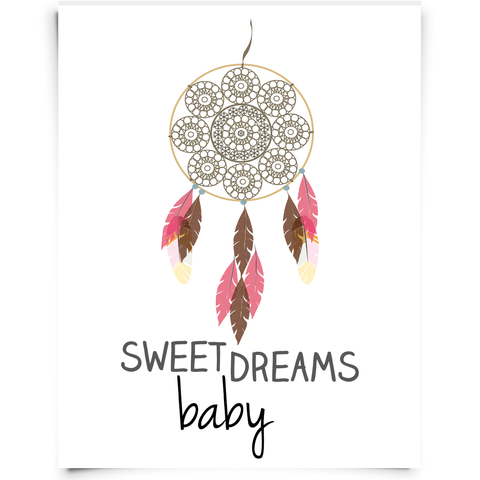 Dream Catcher Nursery Printable
