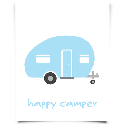 Happy Camper Aqua