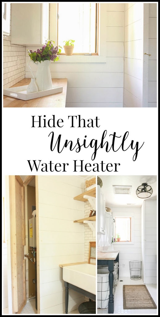 Hide an Unsightly Water Heater by Twelve on Main