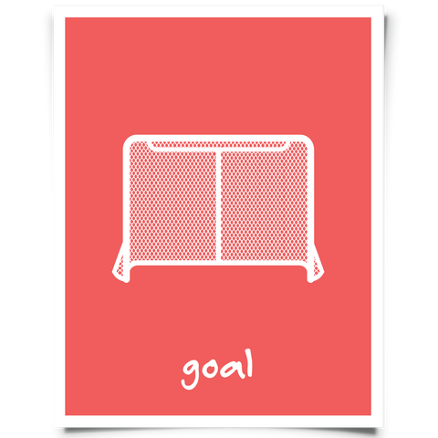 hockey printable red