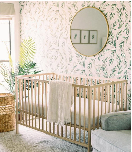 Ikea Sniglar Crib in Nursery by Ashley Upchurch Photo