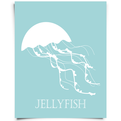 jellyfish nursery art