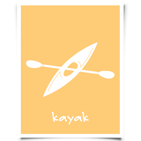 Kayak Free Printable Art