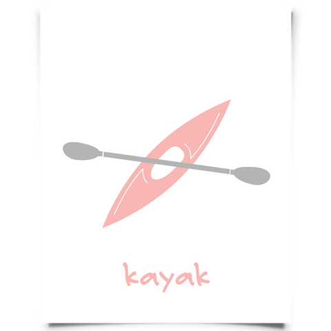 Kayak Freebie - Pink