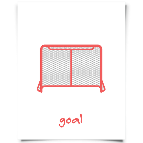 hockey goal printable
