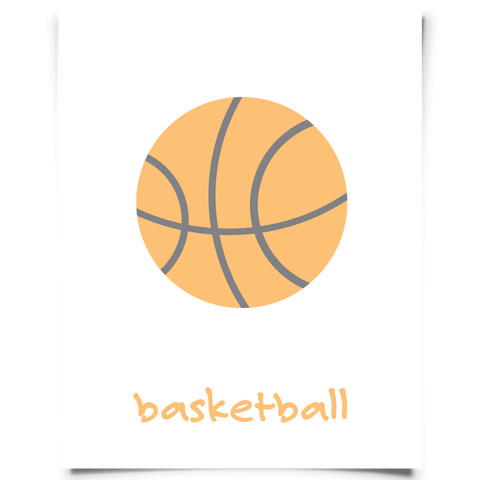 Basketball Free Printable
