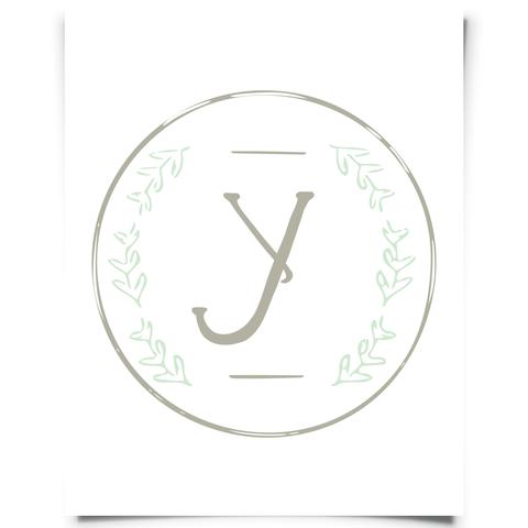 Ivy Alphabet Letter Y