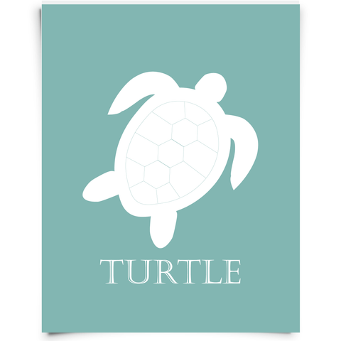 sea turtle nursery art