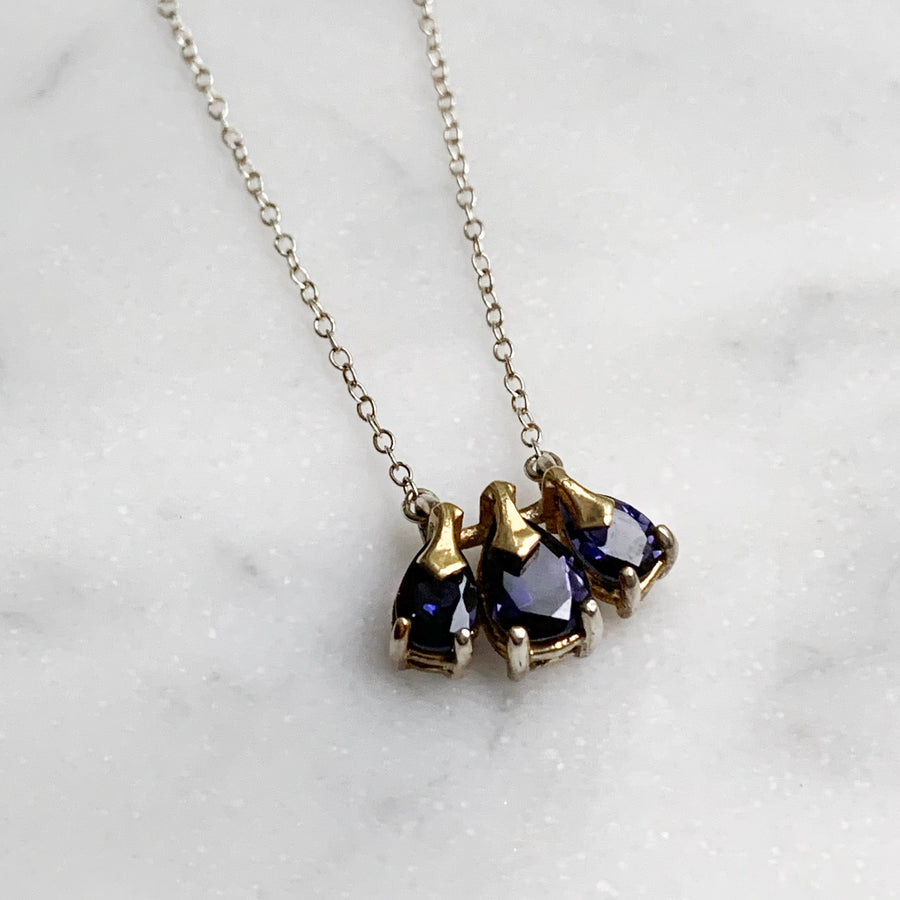 Iris Trinity Necklace