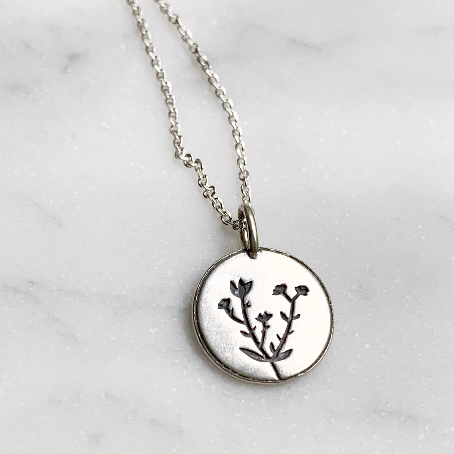 Consider the Wildflowers Necklace