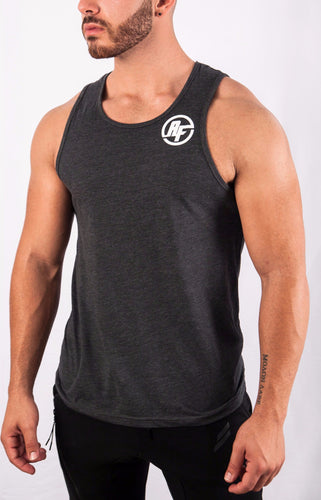 ARESIO FITNESS TANK DARK GREY