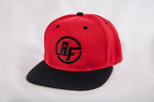 ARESIO FITNESS SNAPBACK BLACK/RED
