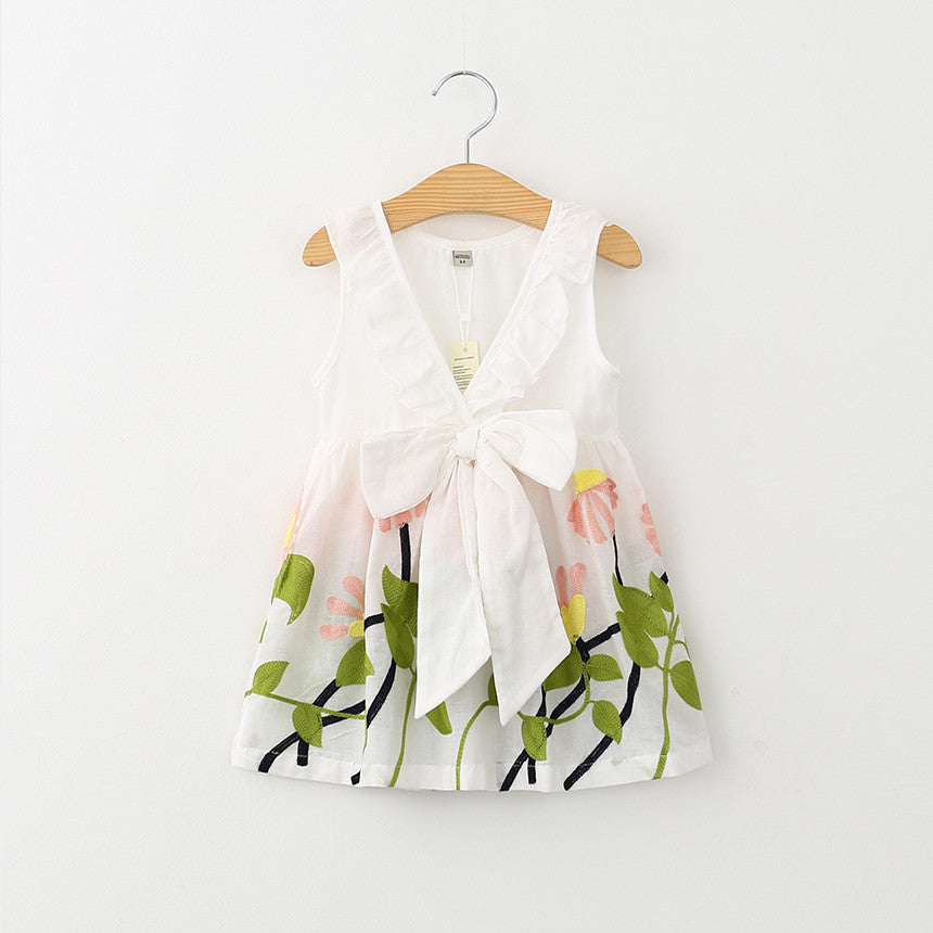 Florals & Bow Dress