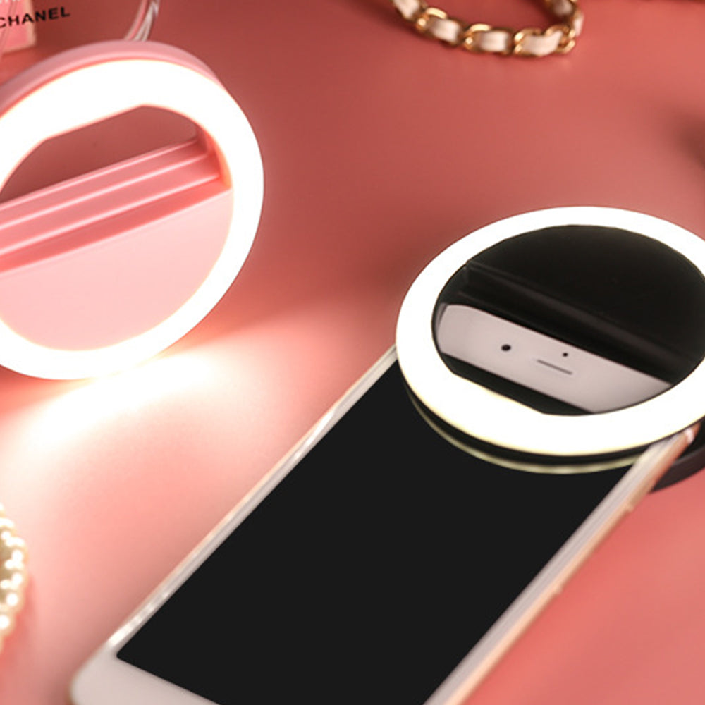 LIGHT ME UP Selfie/Phone Ring Clip