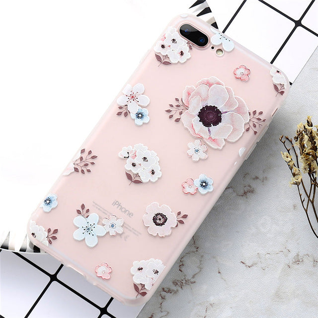 Floral Blossoms iPhone Case