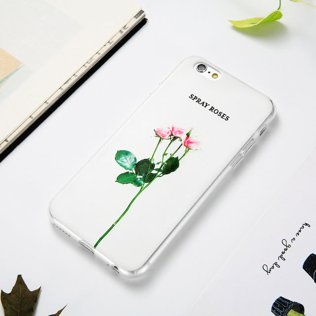 Spray Roses iPhone Case