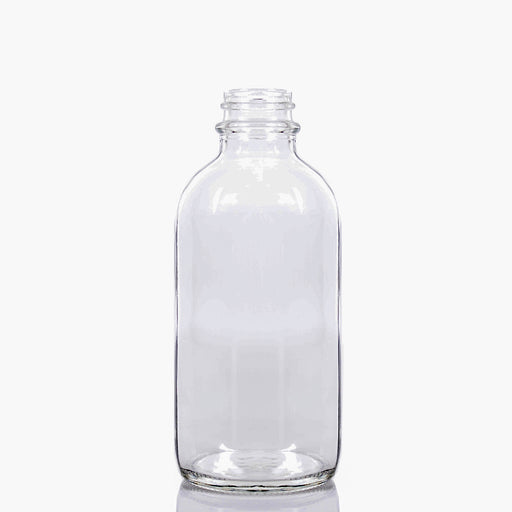 Boston Round Bottle - 120ml Clear