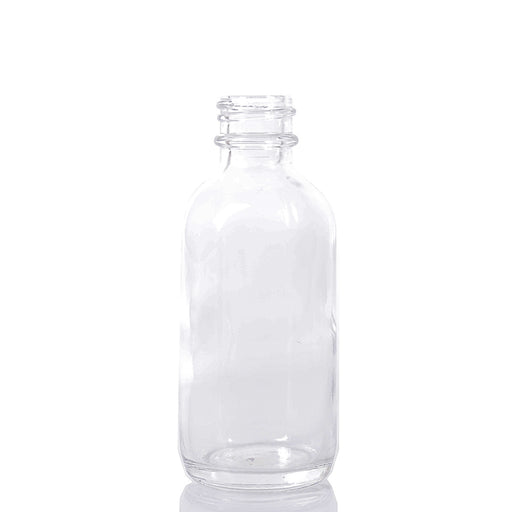 Boston Round Bottle - 60ml Clear