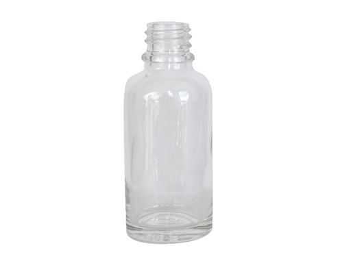Euro Bottle - 30ml Clear