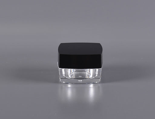 15g Channel Square Series Acrylic Jar [150 count]