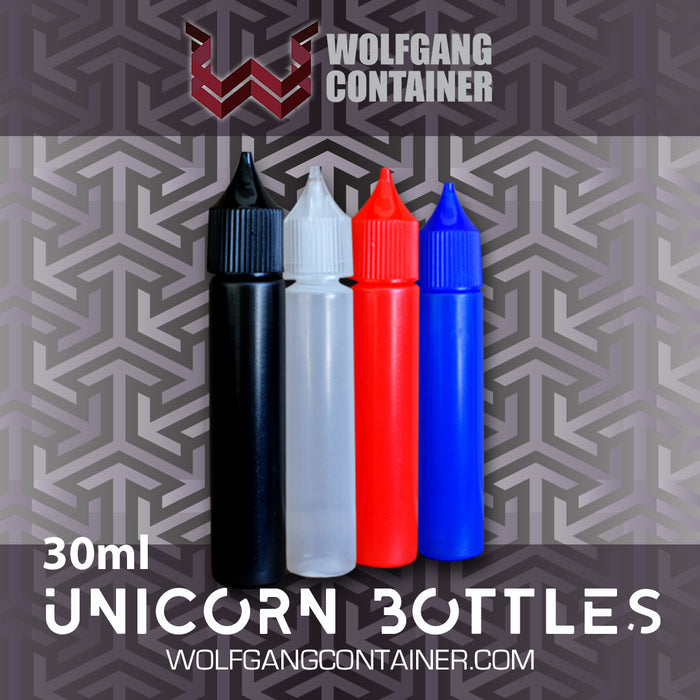30ml LDPE Unicorn Bottle  [100 count]