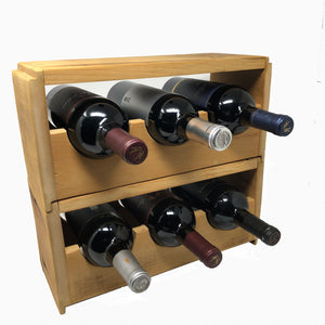 ShipLap Wine Rack