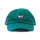 Chino Twill Logo Hat in Forest
