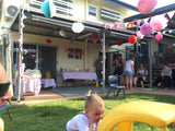 Girls first birthday party