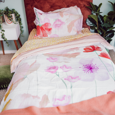 Girls Single Bedding