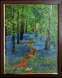 ORIGINAL HANDMADE THE TRAIL PAINTING