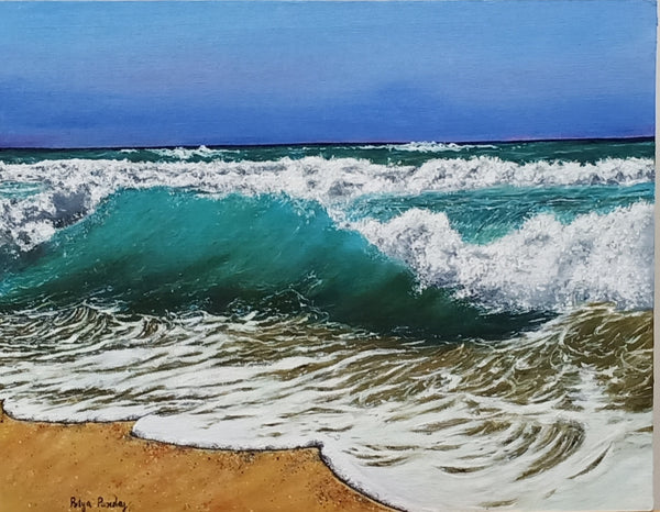 ORIGINAL HANDMADE SEASCAPE PAINTING