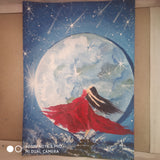 ORIGINAL HANDMADE MY MOON PAINTING