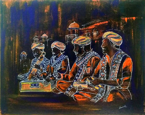 ORIGINAL HANDMADE RAJASTHANI SERIES - MUSIC ARTISTS