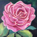 ORIGINAL HANDMADE ROSE CAN FILL YOUR HEART PAINTING