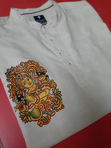 ORIGINAL HAND PAINTED HERITAGE SHIRT FOR MEN