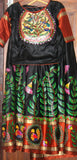 ORIGINAL HAND PAINTED MADHUBANI HERITAGE DRESS