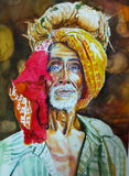ORIGINAL HANDMADE DIGNITY OF LABOR PAINTING