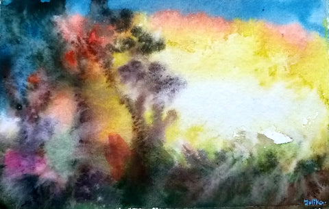 ORIGINAL HANDMADE COLOR OF NATURE PAINTING