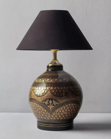 ORIGINAL HANDCRAFTED AND HAND PAINTED CHINAR LAMP