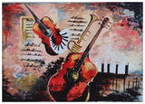 ORIGINAL HANDMADE MUSICAL MOOD PAINTING