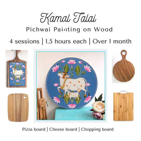 Kamal Talai - 1 Month Pichwai Workshop