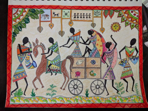 Warli - Indian Folk Art Classes