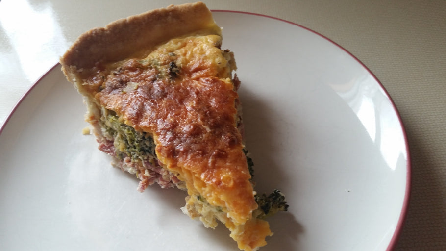 Turkey Broccoli Quiche